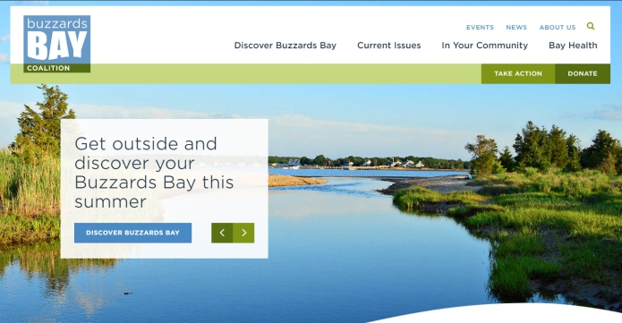 new Buzzards Bay Coalition website
